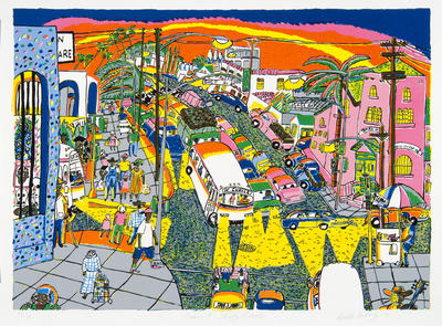 Artist: Roberto Gutiérrez, American, born 1943