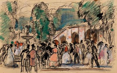Artist: Gifford Beal, American, 1879-1956