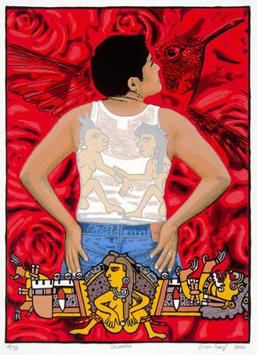 Artist: Alma López, American, born Mexico, 1966