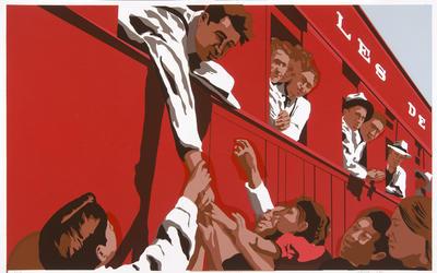 Artist: Carlos Francisco Jackson, American, born 1978