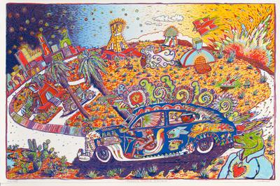 "Artist: Gilbert ""Magu"" Luján, American, 1940-2011"