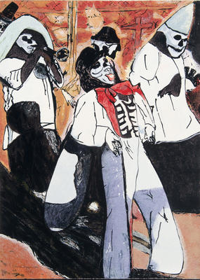 Artist: Eduardo Oropeza, American, 1947-2003