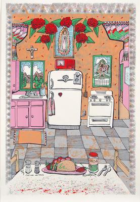 Artist: Larry Yáñez, American, born 1949