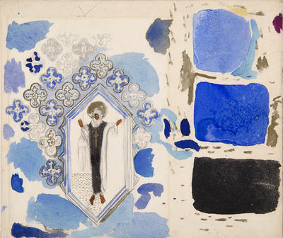 Design details for Le Martyre de Saint Sébastien (The Martyrdom of Saint Sebastian)