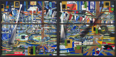 Artist: Radcliffe Bailey, American, born 1968