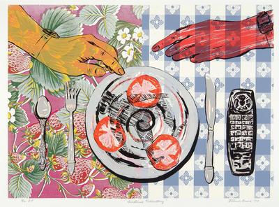 Artist: Rolando Briseño, American, born 1952