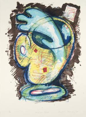 Artist: Elizabeth Murray, American, 1940-2007