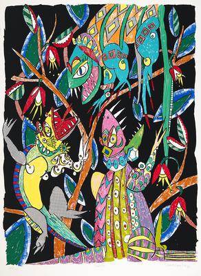 Artist: Diane Gamboa, American, born 1957