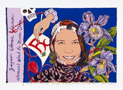 Artist: Yolanda Lopez, American, born 1942