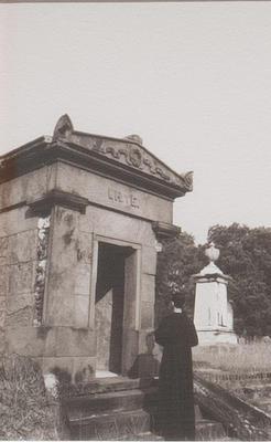 Mausoleum from Walk #1; Ernesto Pujol; American, born Cuba, 1957; 2012.4.4
