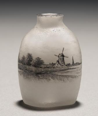 Miniature Vase; Daum Frères; Nancy, France; 2011.164