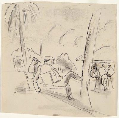 Park (Sportsmen) from Caribbean Sketchbook