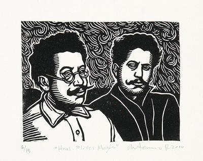 Hermanos Flores Magón from Estampas de la Revolución Mexicana
