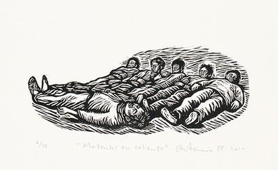 Mátenlos en caliente from Estampas de la Revolución Mexicana