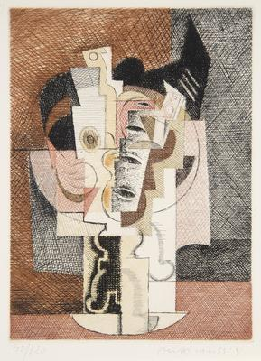 Artist: Louis Marcoussis, French, born Poland, 1883-1941