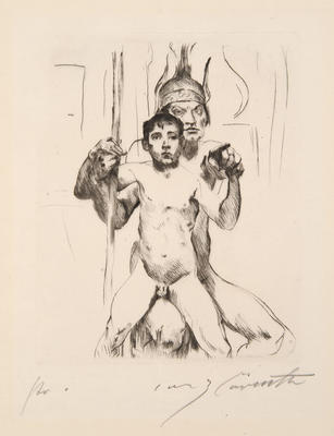 Artist: Lovis Corinth, German, 1858-1925