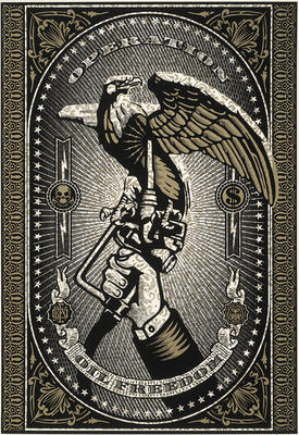 Artist: Shepard Fairey, American, born 1970
