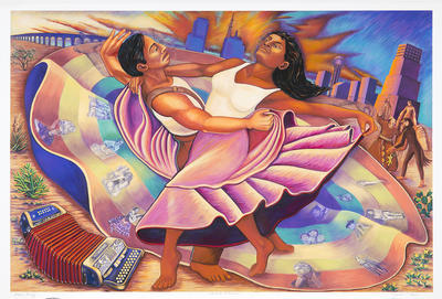 Artist: Judy Baca, American, born 1946