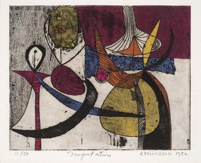 Artist: Leonard Edmondson, American, 1916-2002