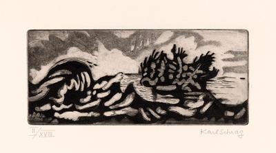 Artist: Karl Schrag, American, born Germany, 1912-1995
