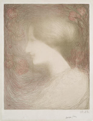 Artist: Edmond Aman-Jean, French, 1858-1936