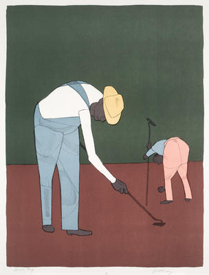 Artist: Robert Gwathmey, American, 1903-1988