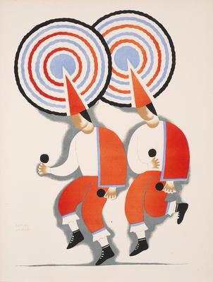 Artist: Carlos Mérida, Guatemalan, 1891-1984