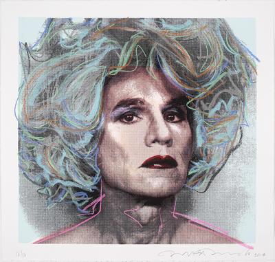 Blue Warhol