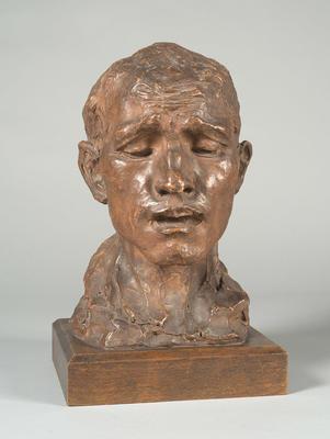 Head of Pierre de Wissant; Auguste Rodin; French, 1840-1917; 2014.80