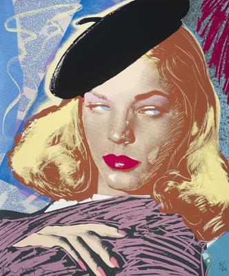 Lauren Bacall; Richard Duardo; American, 1952-2014; 2014.83