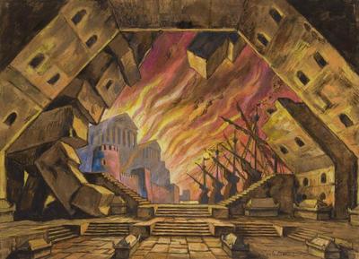 Artist: Nicola Benois, Russian, 1901-1988