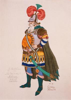 Artist: Ivan Bilibin, Russian, 1876-1942