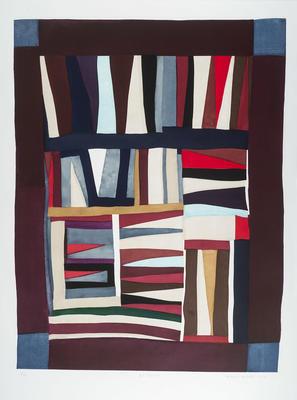Artist: Mary Lee Bendolph, American, born 1935