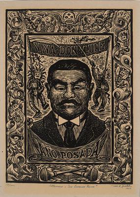 Homenaje a Posada (Tribute to Posada); Desiderio Hernández Xochitiotzin; Mexican, 1922-2007; 2015.98