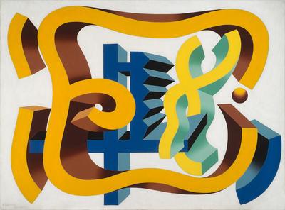Artist: Charles Biederman, American, 1906-2004