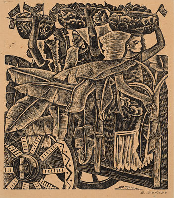 Artist: Erasto Cortés Juárez, Mexican, 1900-1972