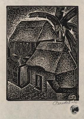 Casas (Houses); Mariano Paredes; Mexican, 1912-1980; 2015.133