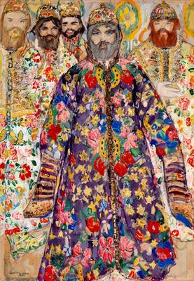Portrait of the Tsar in Boris Godunov