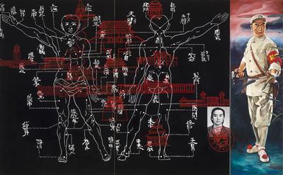 Artist: Hung Liu, American, born China, 1948