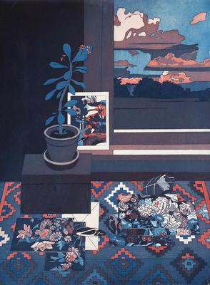 Artist: Katja Oxman, American, born Germany, 1942