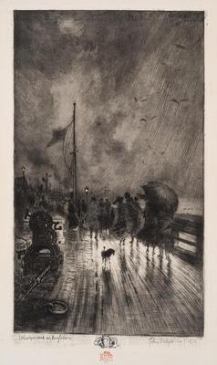 Artist: Félix Buhot, French, 1847-1898