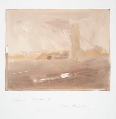 Artist: Nathan Oliveira, American, 1928-2010