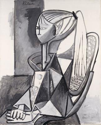 Portrait of Sylvette; Pablo Picasso; Spanish, 1881-1973; 1973.36