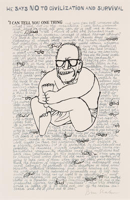 I Can Tell You One Thing; Ben Shahn; American, born Russia (now Lithuania), 1898-1969; 2017.4