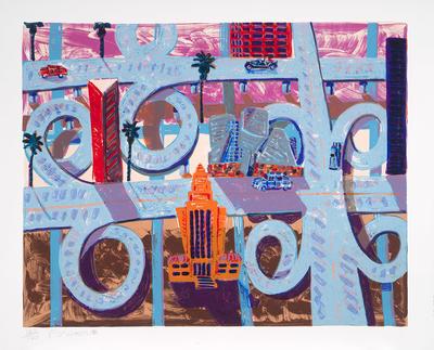 Artist: Frank Romero, American, born 1941