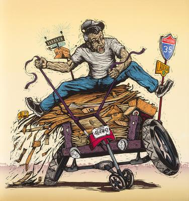 Artist: Juan de Dios Mora, American, born 1984