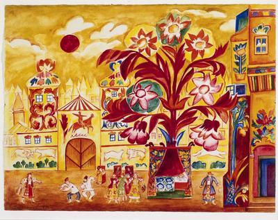 Artist: Natalia Gontcharova, Russian, 1881-1962