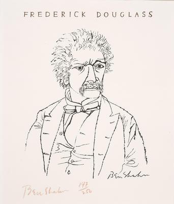 Frederick Douglass II; Ben Shahn; American, born Russia (now Lithuania), 1898-1969; 2017.2.2