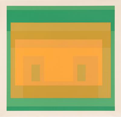Artist: Josef Albers, American, born Germany, 1888-1976