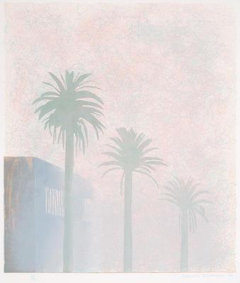 Mist; David Hockney; British, born 1937; 1974.8